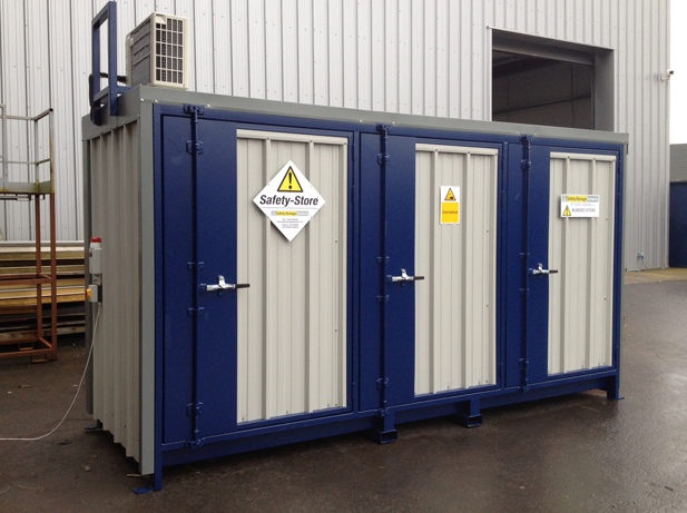temperature controlled chemical storage