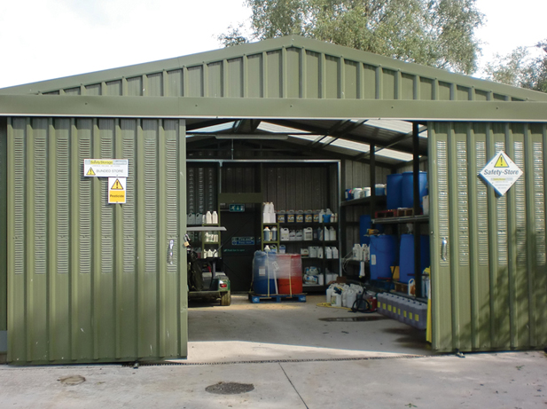 Chemical Storage   View Range of Chemical Stores